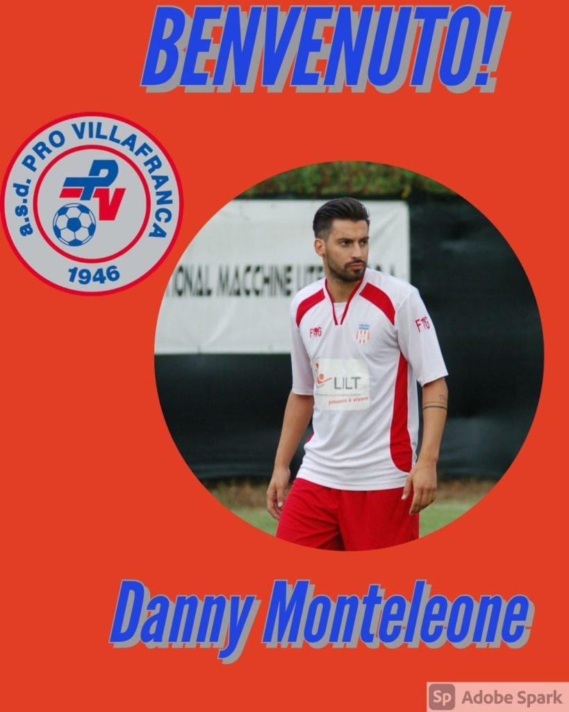 Danny Monteleone nuovo puntero villans
